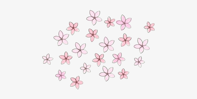 Flower Overlays Png - Overlays Transparent Tumblr Flowers PNG Image