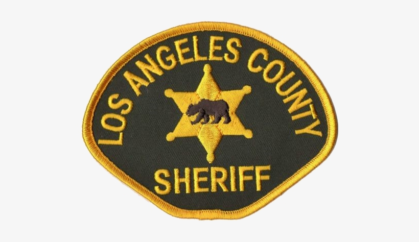 Malibu Canyon Arrest - Angeles County Sheriff Patch PNG