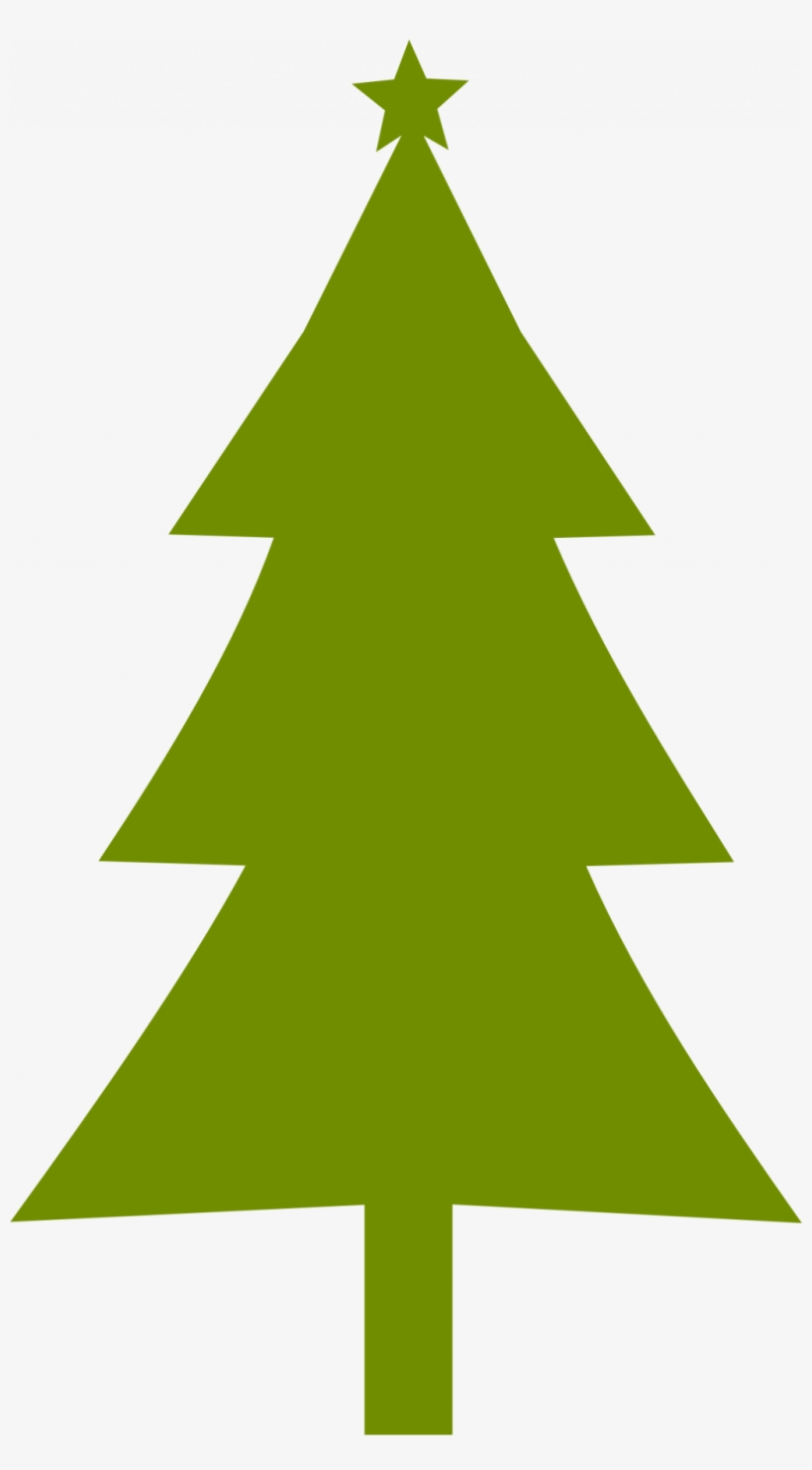 Christmas Tree Outline Clipart Png Simple Christmas Tree Clipart Png Image Transparent Png Free Download On Seekpng