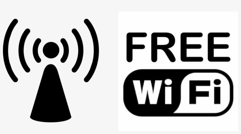 Wi Fi Clipart Wi Fi Wireless Lan Logo Free Wifi Icon Png Png Image Transparent Png Free Download On Seekpng