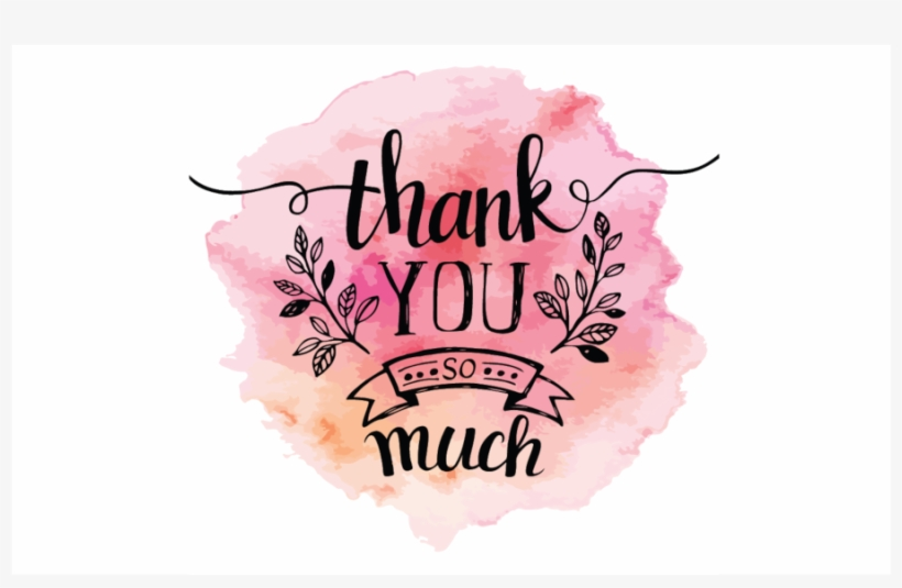 Thank You Card Calligraphy Hand Lettering Thank You Png Image