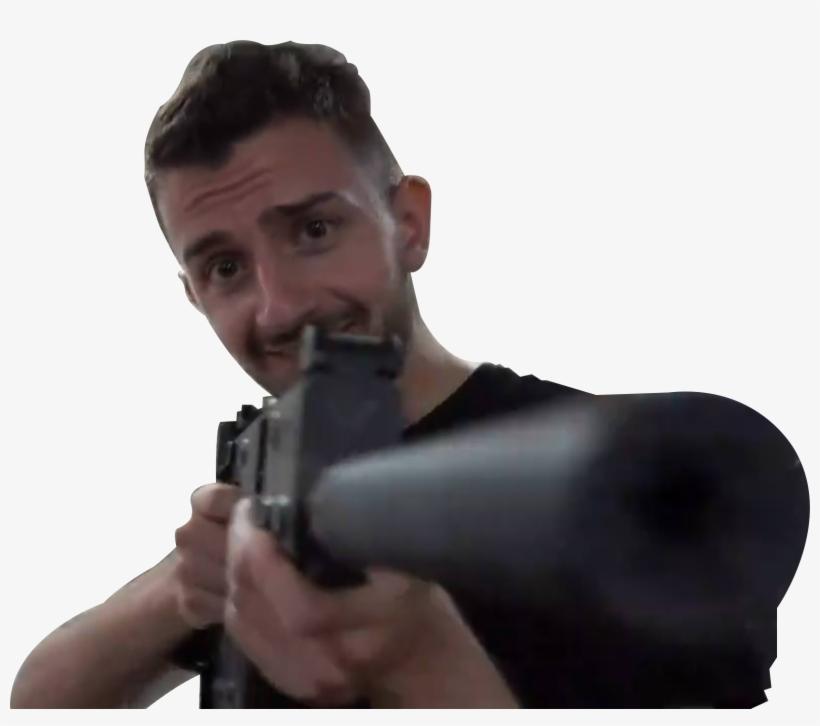 Fortnite Laser Gun Emote Suggestionmonkas Emote Or Sum Shit Airsoft Gun Png Image Transparent Png Free Download On Seekpng