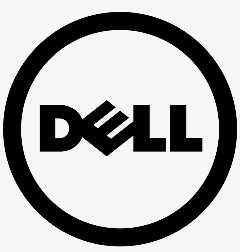 Dell Icon Free Download And Vector Png Dell Logo - Dell Logo Black