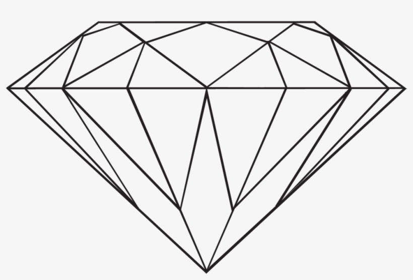 Diamond transparent. By danakatherinescully on clipart