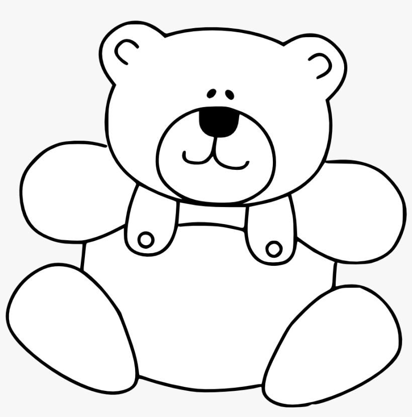 Teddy Bear Png - Coloring Book PNG Image Transparent PNG Free Download On  SeekPNG