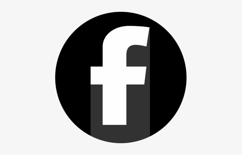 Facebook Black Circle Facebook Logo Pdn Black Png Image
