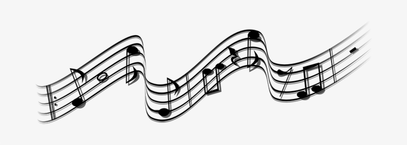 Notes Note Music Sheet Music Musical Sound - Music Note Wave