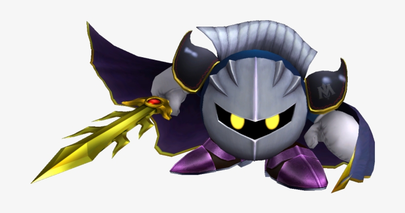 Download Zip Archive - Meta Knight Super Smash Bros Brawl PNG Image