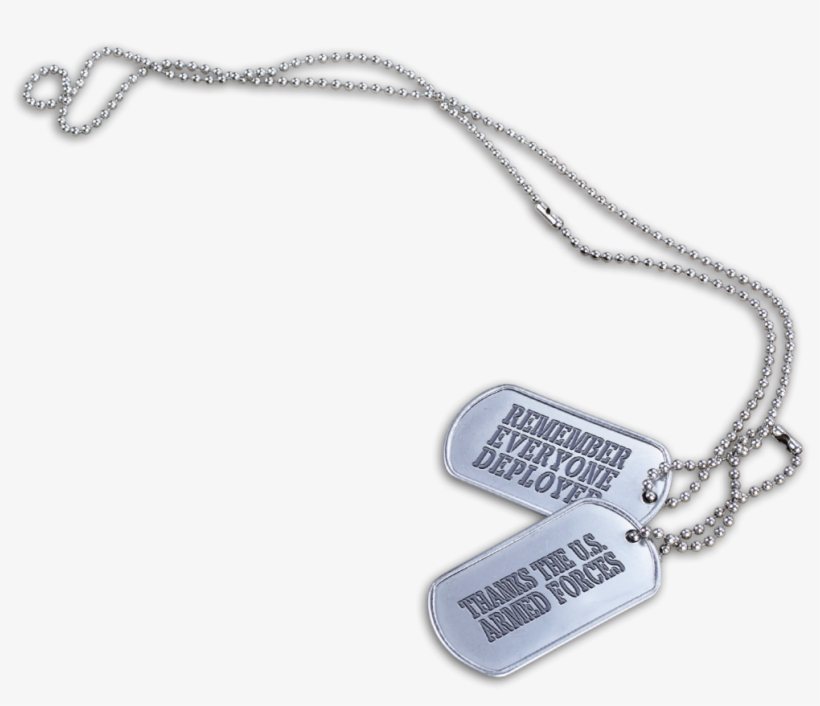 Military Clipart Dog Tag - Necklace PNG Image | Transparent PNG Free