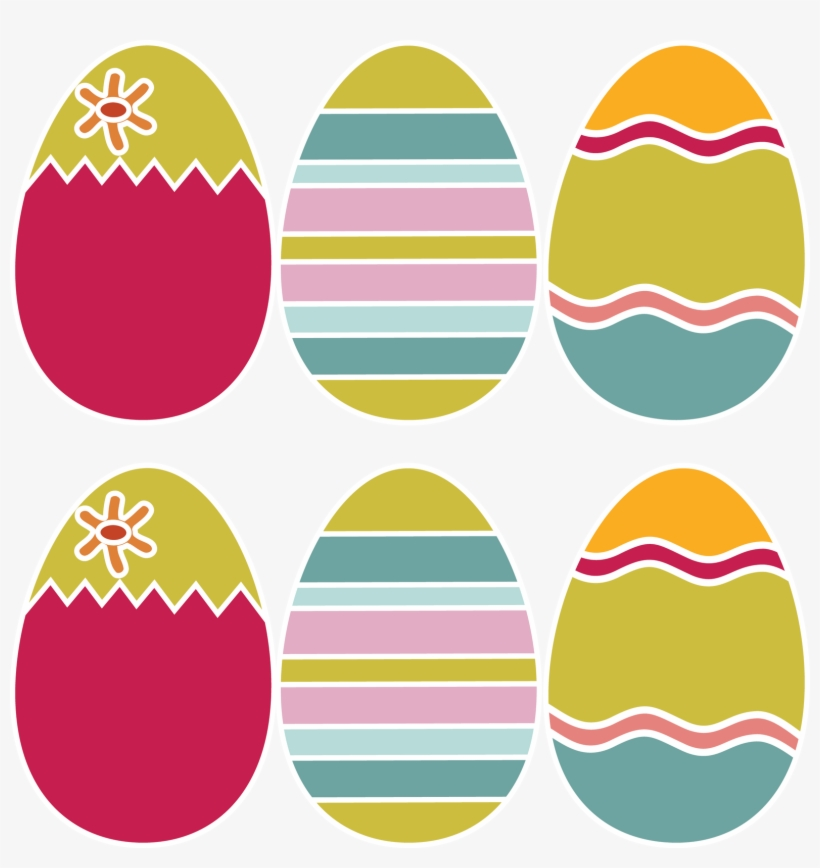 photograph relating to Free Printable Easter Eggs named Totally free Printable Coloured Easter Eggs No cost Printable Easter