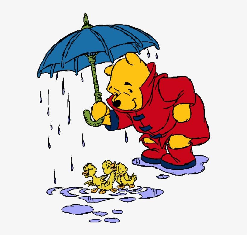 Winnie The Pooh Rain: Rain Clipart Winnie The Pooh