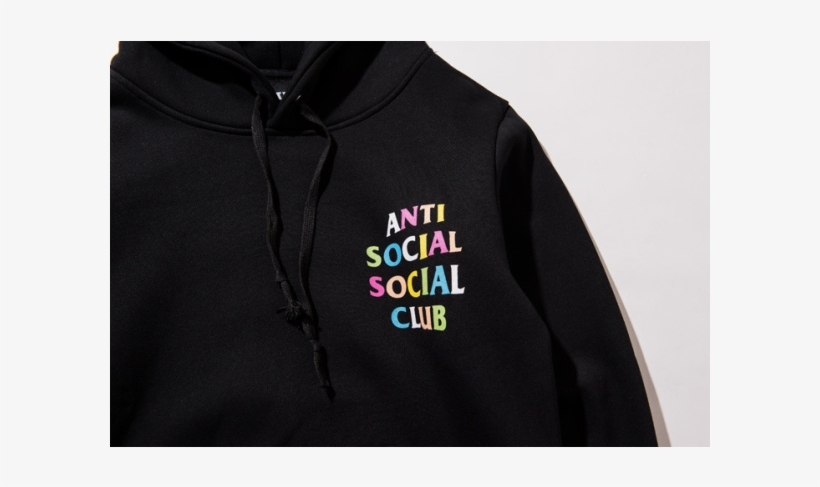 30de480decd4 Anti Social Social Club Assc Multciolor Hoodie - Anti Social Social Club  Multicolor Hoodie