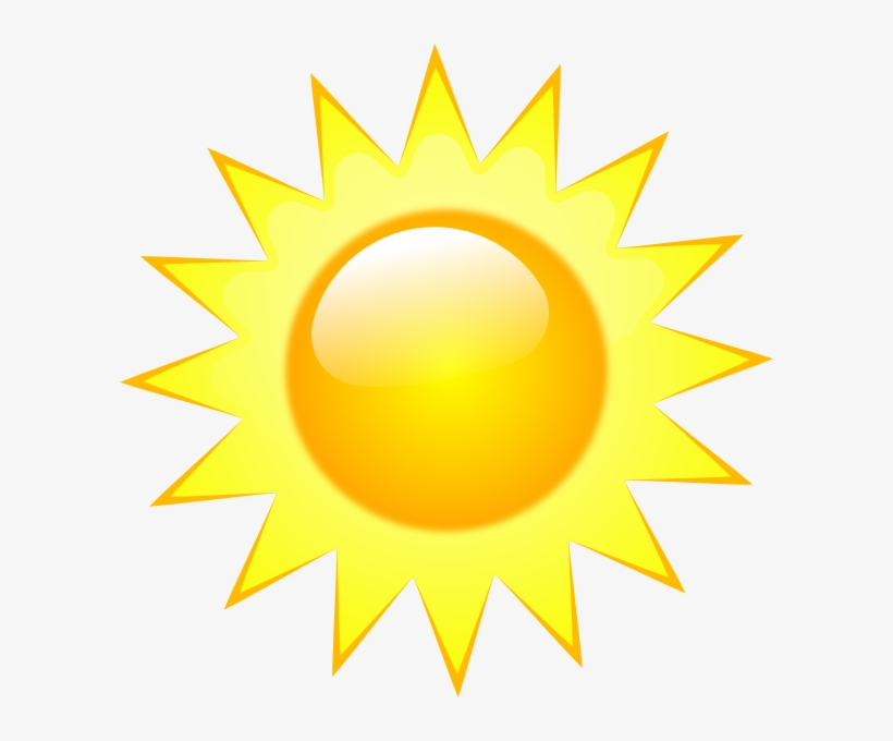 Vector Sun - Sunny Weather Symbol Transparent PNG Image ...