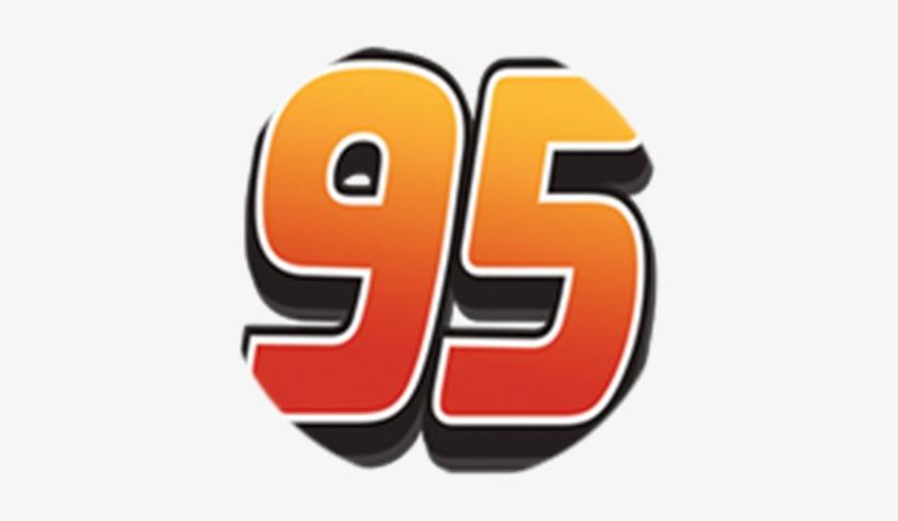Lightning Mcqueen Logo Png Lightning Mcqueen Number 95 Png Image