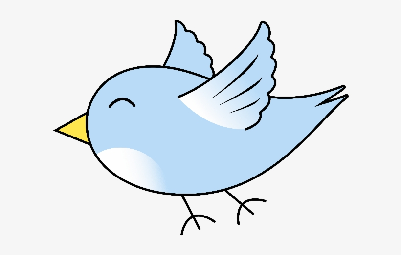 Cartoon Bird Flying Cute Cartoon Bird Flying Png Image