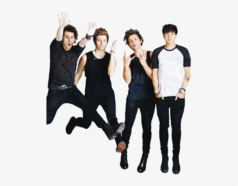 ☁ Transparents ☁ - 5 Seconds Of Summer Png PNG Image