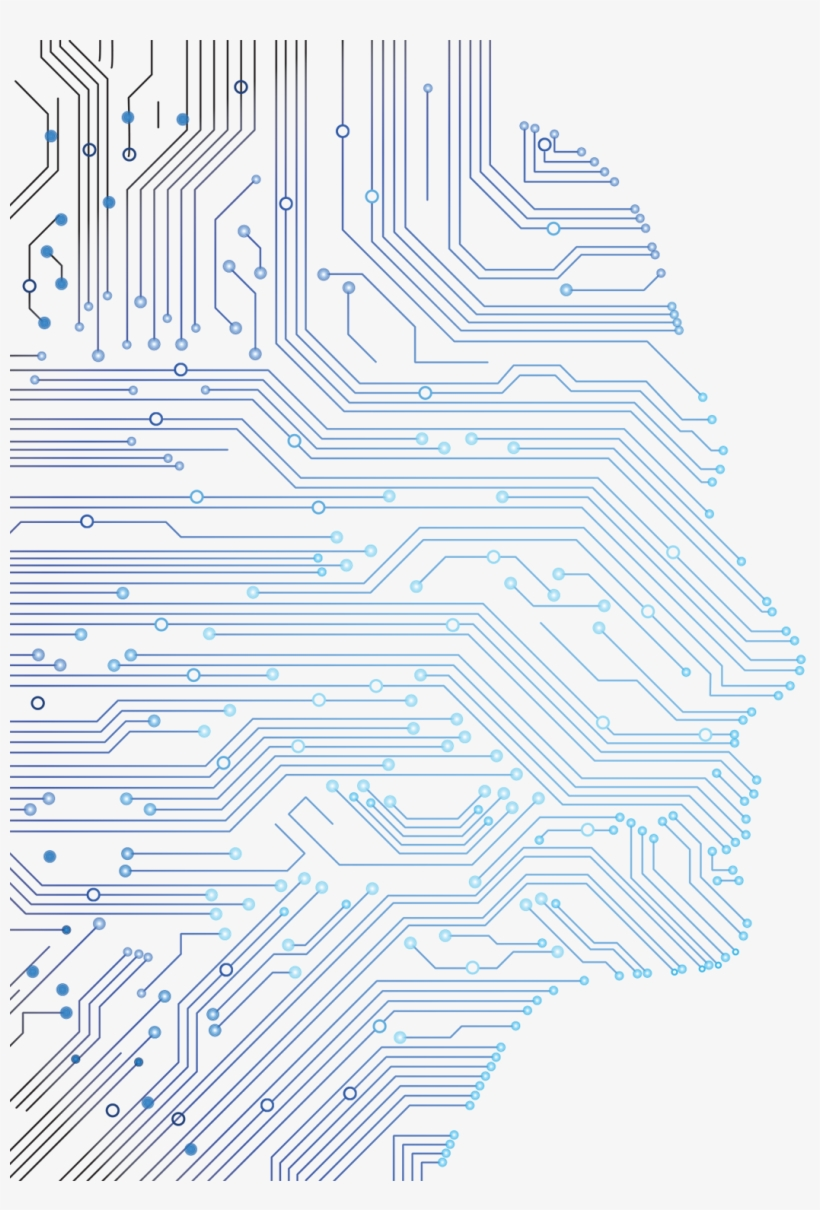 Circuit Board Vector Png Abstract - Circuit Board Vector Png