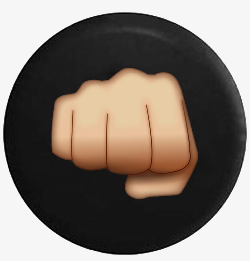 Punching Fist Bump Text Emoji Comfort Png Image Transparent Png Free Download On Seekpng