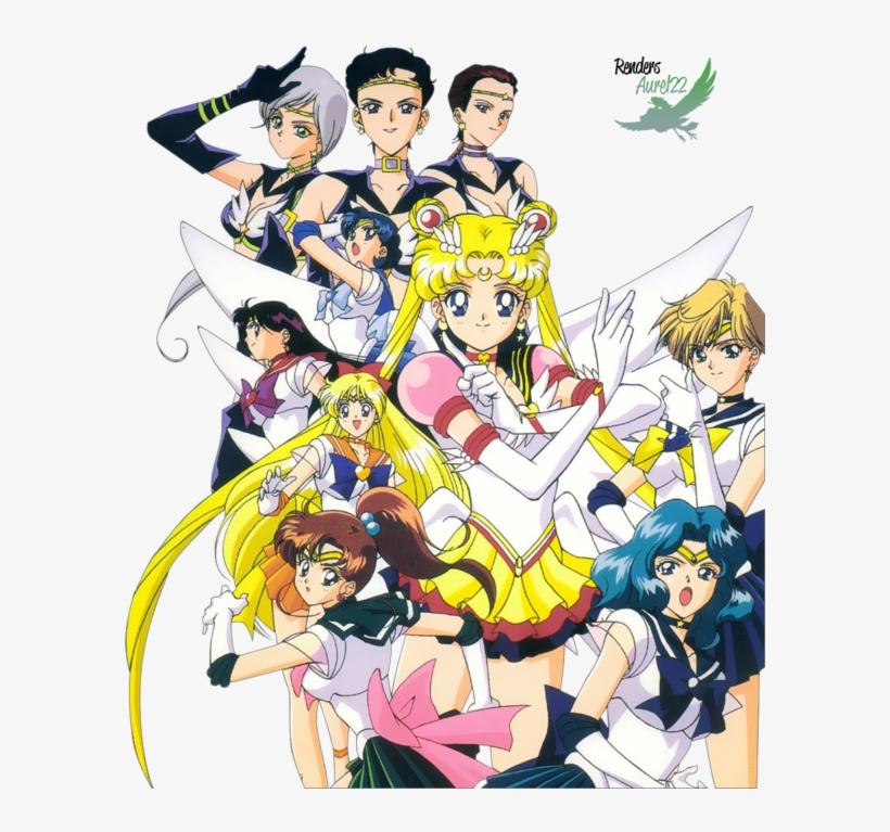 Sailor Moon Logo Star