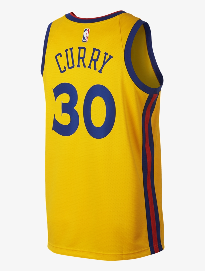 4934849ee92 Nike Golden State Warriors City Edition Swingman Nba - Camiseta Golden  State Warriors 2018