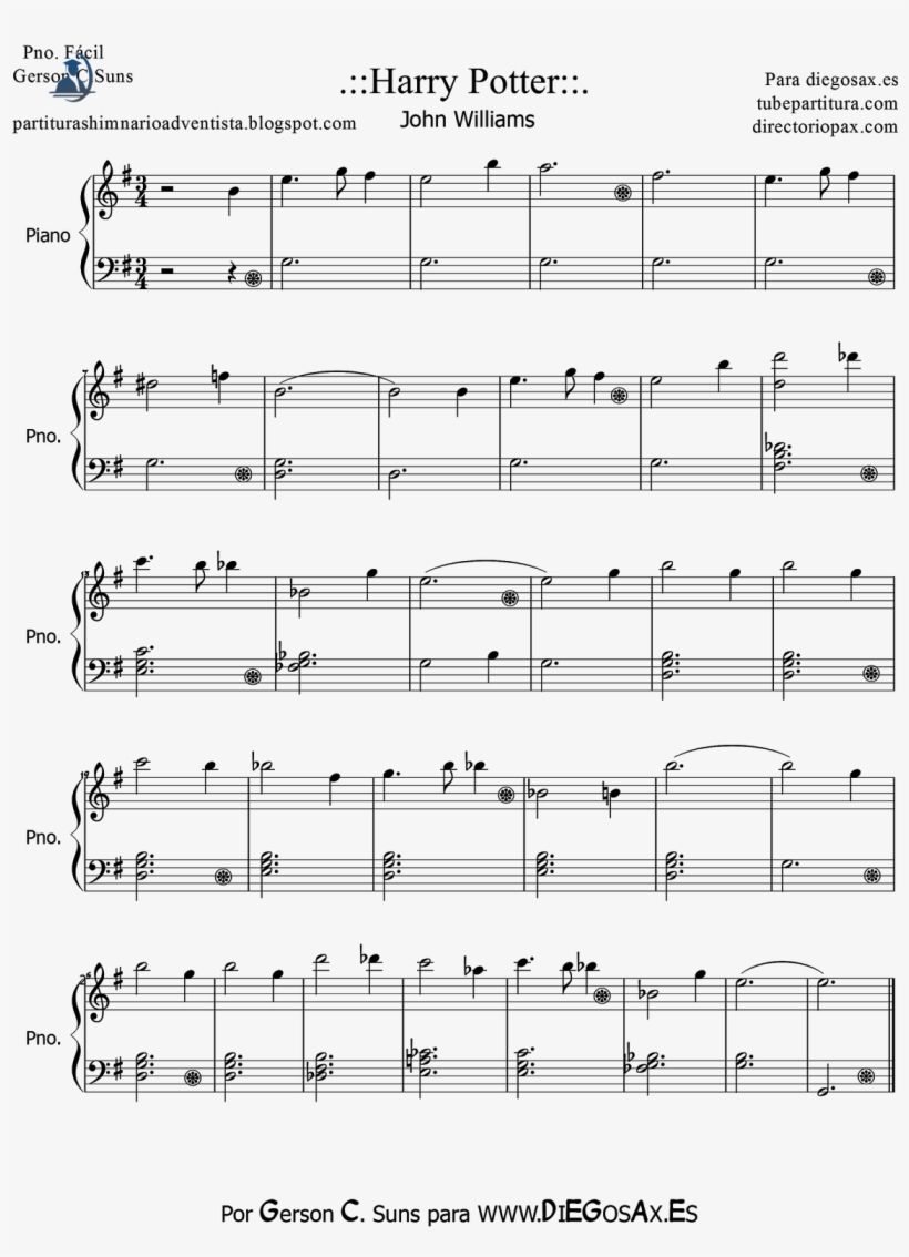 It is a graphic of Harry Potter Theme Song Sheet Music for Piano Free Printable with regard to piano note letter