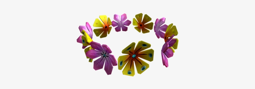 Lei Roblox Flower Crown Code Png Image Transparent Png Free