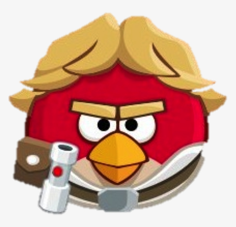 A Red Star Wars Blast Png Luke Skywalker Angry Birds Png Image Transparent Png Free Download On Seekpng
