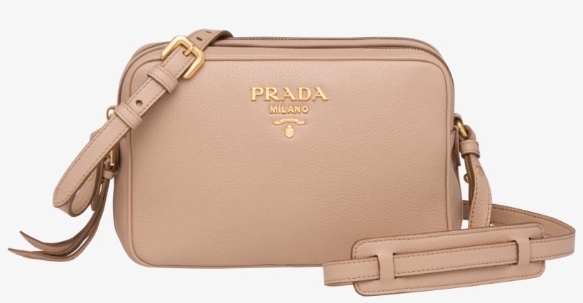 Prada Calf Leather Shoulder Bag PNG Image  8b2e92e358632