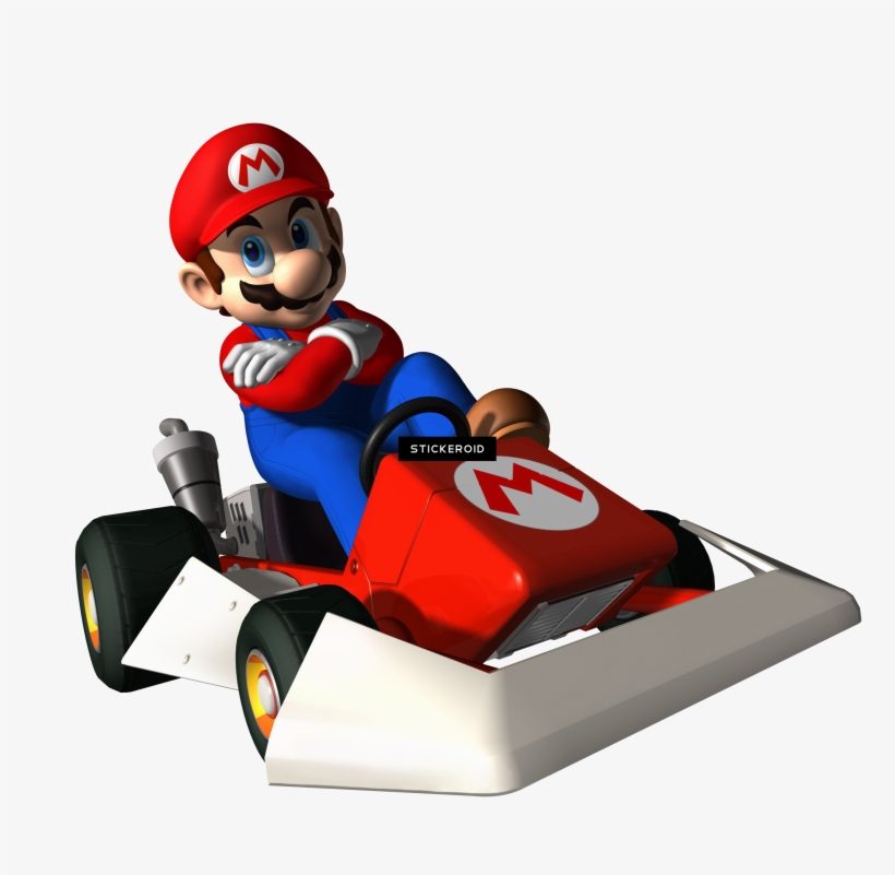 Mario Bros Mario Kart Ds Ds Png Image Transparent Png Free