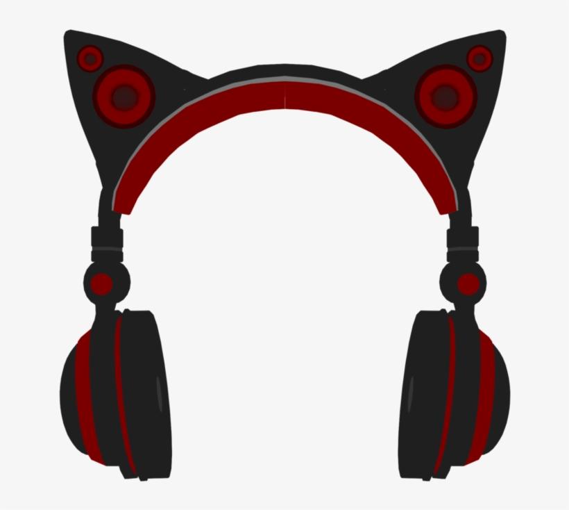 Clip Art Stock Clip Headphones Cat Ear Mmd Cat Ear Headphones Png Image Transparent Png Free Download On Seekpng