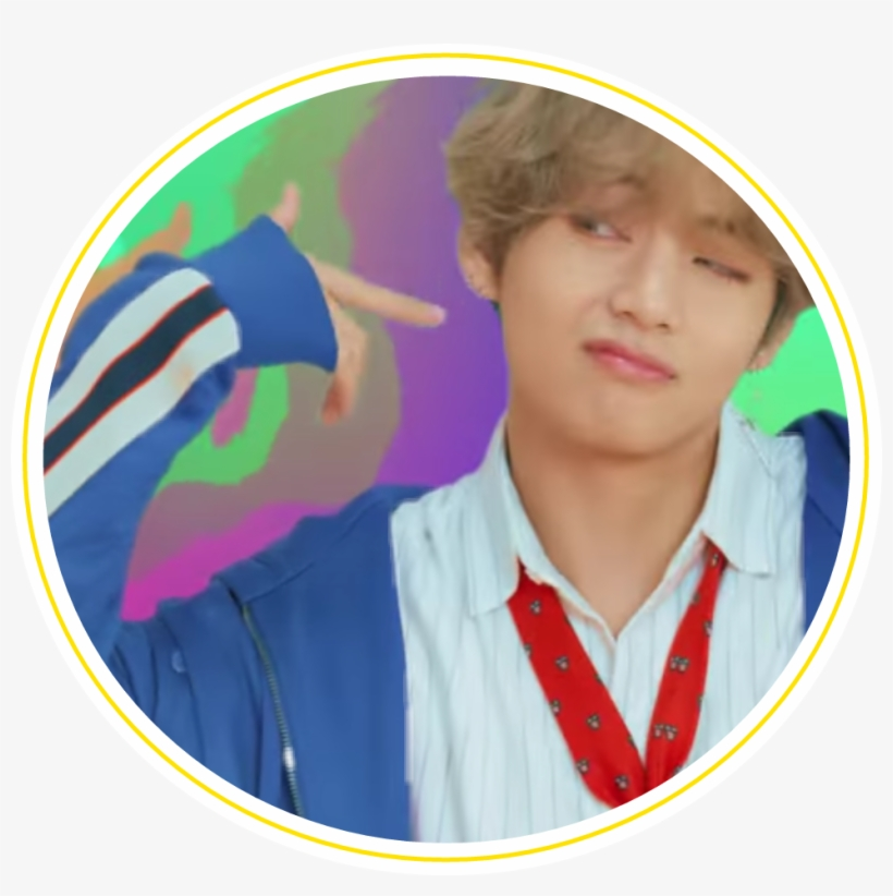 539 5396319 bts stickers png picture freeuse bts dna taehyung