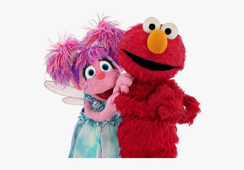 Sesame Street Characters Abby Cadabby And Elmo Will Elmo