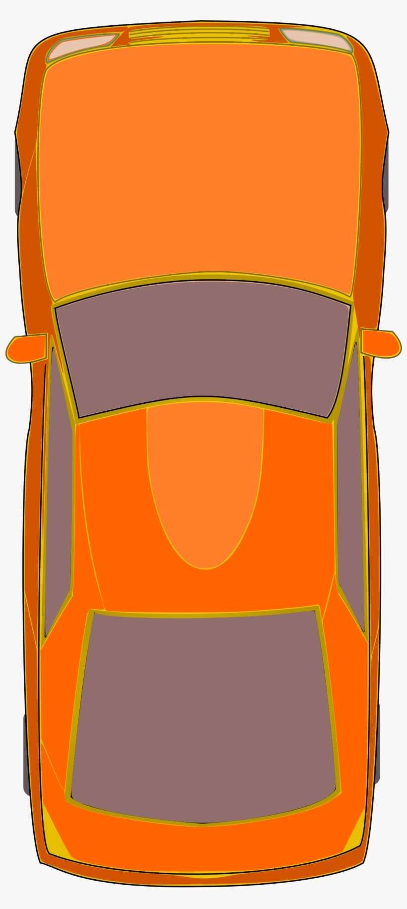 Clipart Orange Rental Car Key Icon Royalty Free Vector Car Clipart