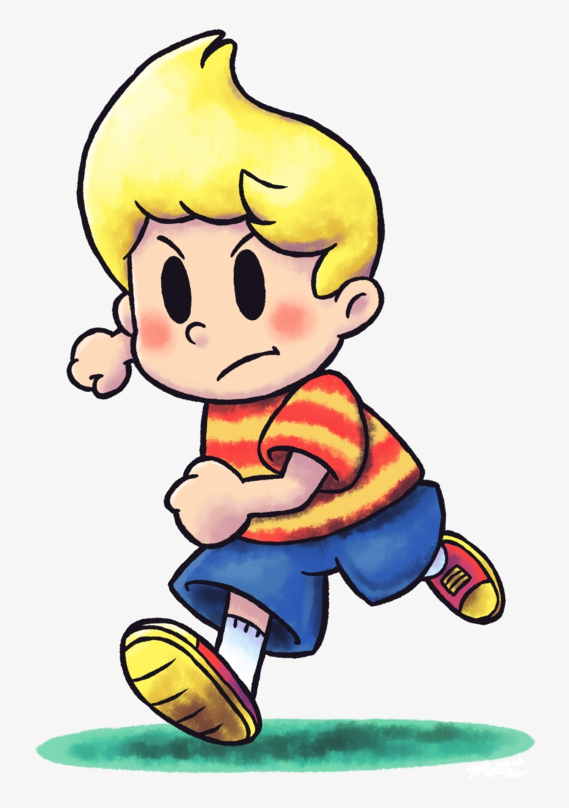 Luigi Rpg Style Lucas Picture Stock - Lucas Mother 3 Artwork