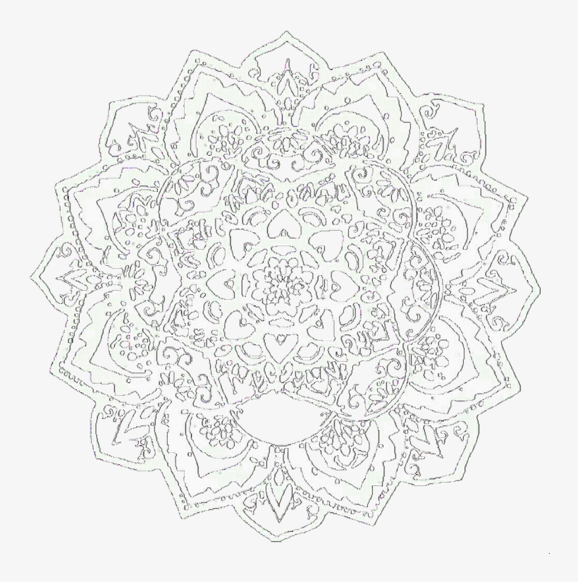 Overlay, Mandala, And Edit Image - Bts Edits Black And White