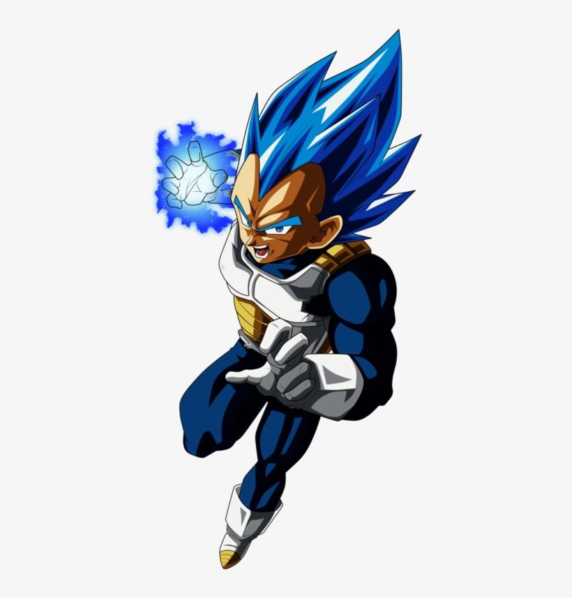 Super Saiyan Evolution Vegeta - Vegeta Ssj Blue Evolution Png@seekpng.com