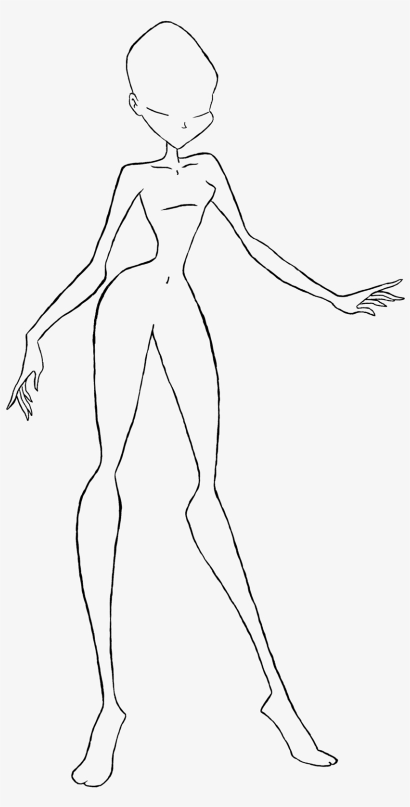 Body Base Drawing At Free For Personal Use Body Png Line Art Png Image Transparent Png Free Download On Seekpng