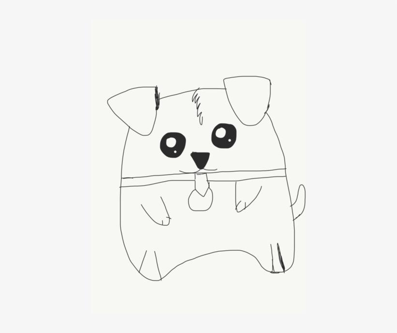 2e20ba6c7 #omg #cuteness Overload #cute #doggo - Cartoon, transparent png download