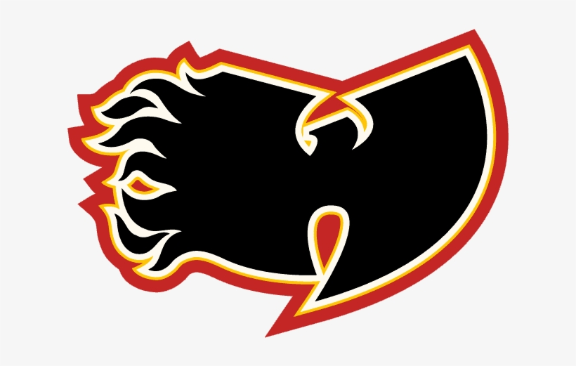 Wu Art Thursday Nhl Calgary Flames Paw Shaped Magnet One Size Red Png Image Transparent Png Free Download On Seekpng
