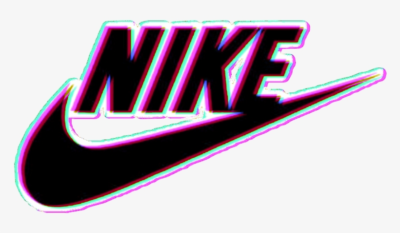896e280196917 Sticker Stickers Nike Tumblr Cool Logo Pink Black Wow - Nike ...