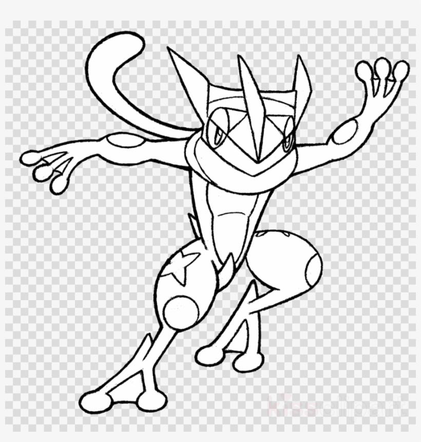 pokemon coloring pages talonflame xy | Download Greninja Para Colorear Clipart Ash Ketchum ...