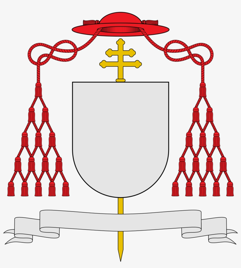 dd0e870a Png Library Library Cardinal Svg Angel - Cardinal Coat Of Arms PNG ...