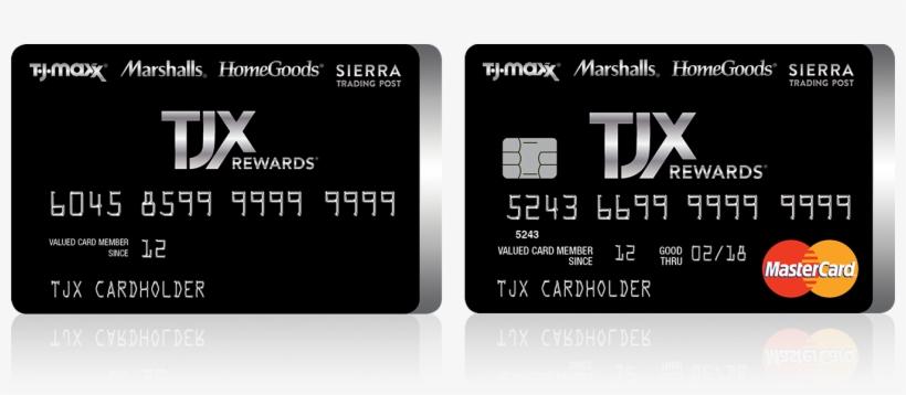 Tjmaxx Credit Card Pay Bill - Tjx Rewards PNG Image Transparent