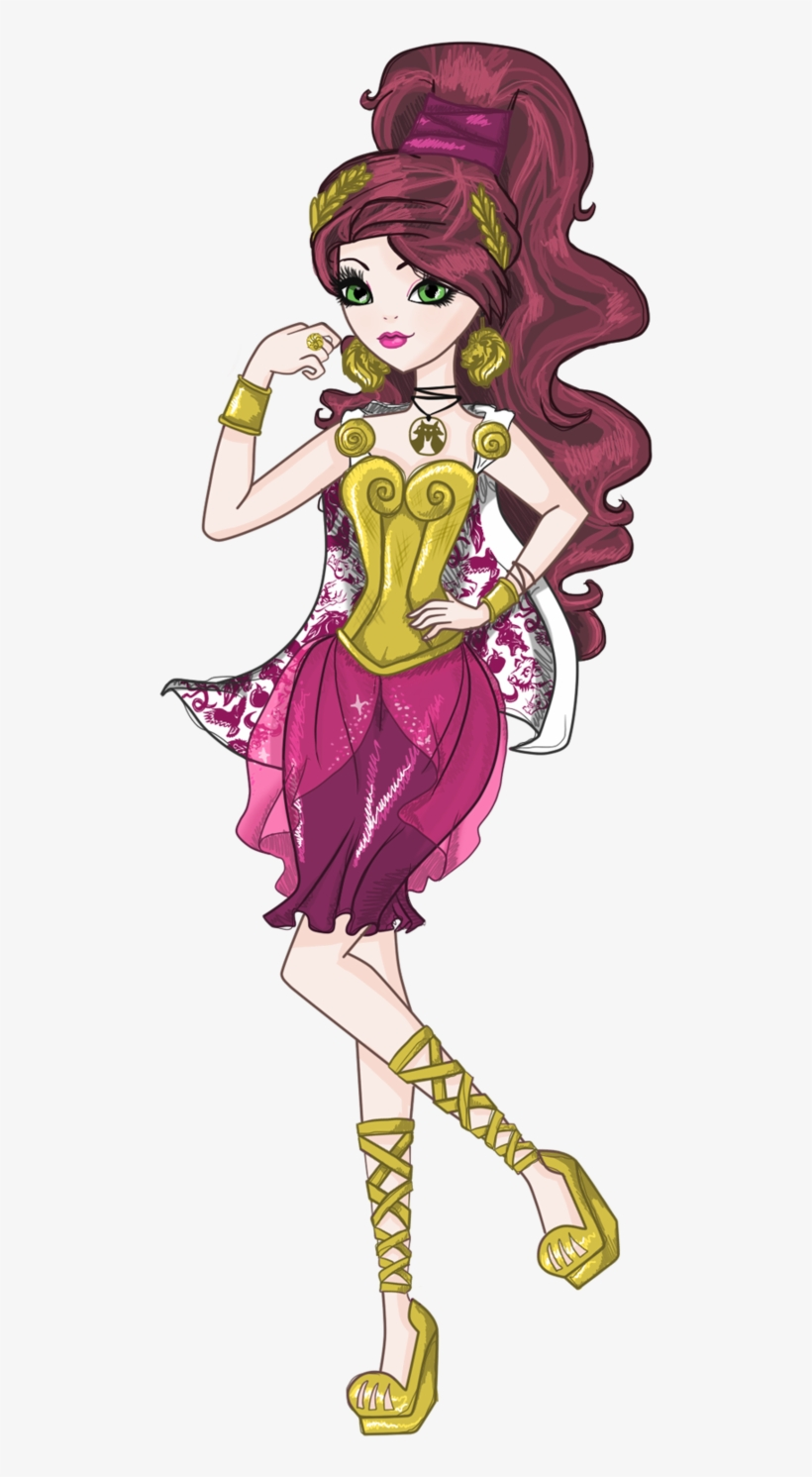 Daughter Of Hercules Ever After High Characters Full Body Png Image Transparent Png Free Download On Seekpng