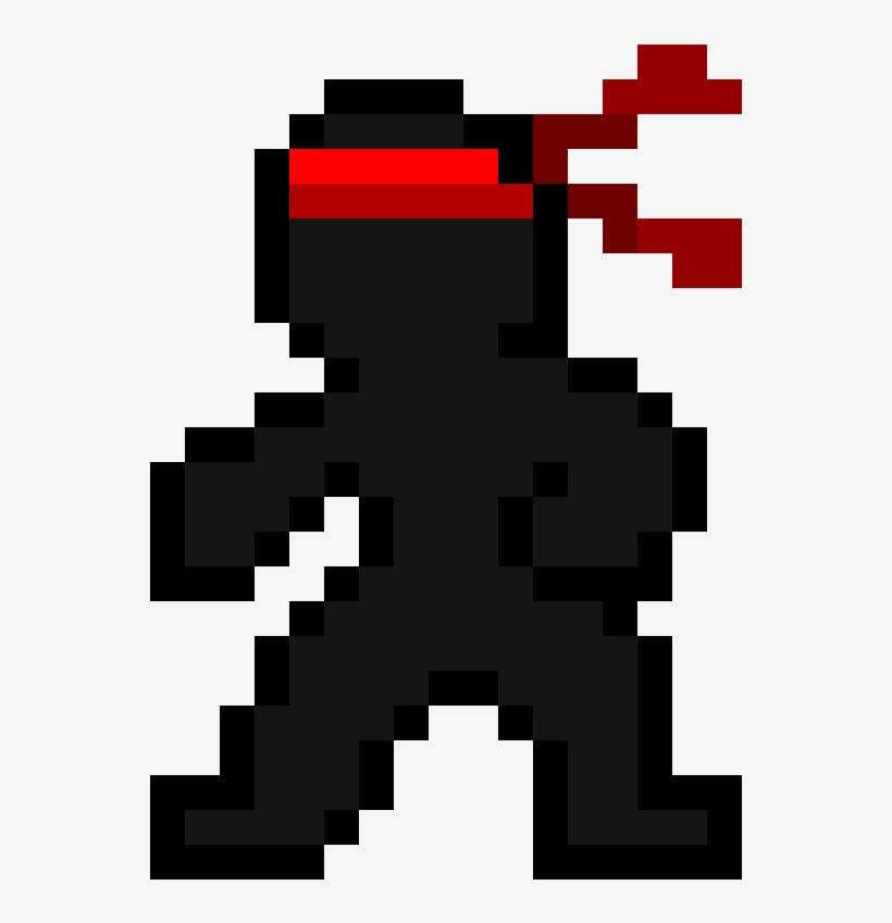 Maybe A Ninja Pixel Art Png Image Transparent Png Free