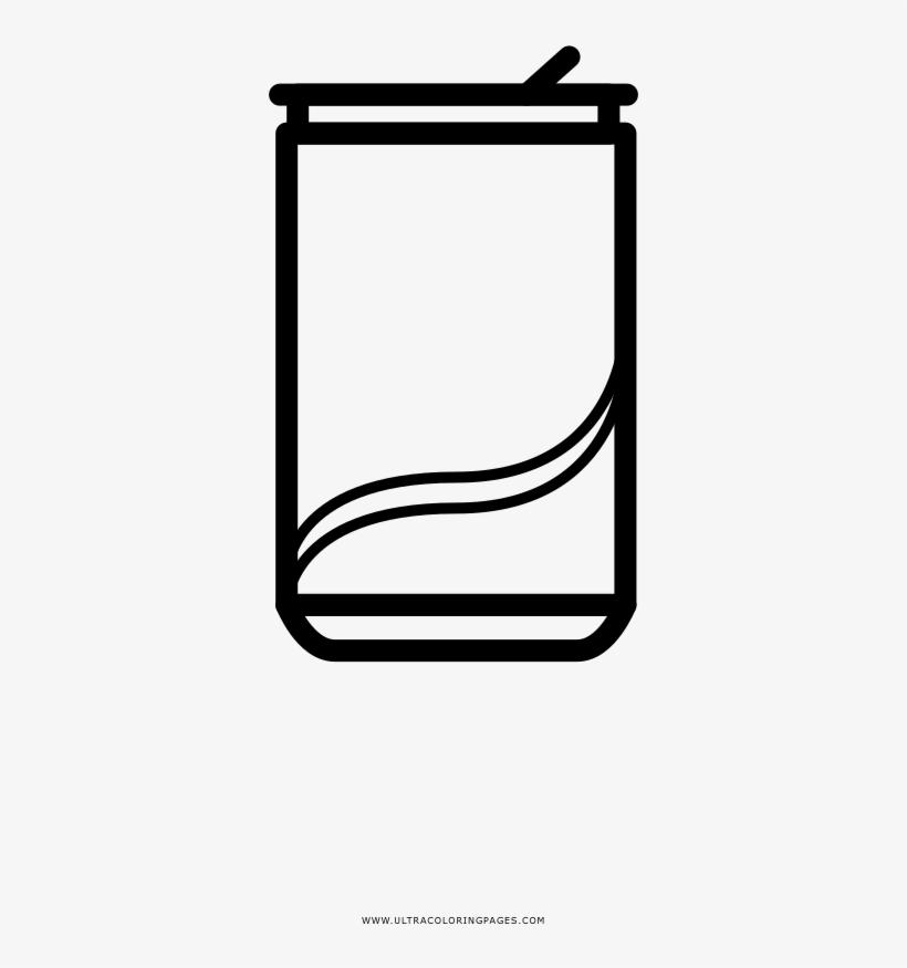 Soda Can Coloring Page Dibujos Para Colorear Refrescos Png Image