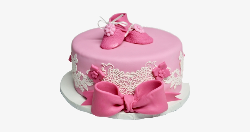 Peachy Chocolate Baby Shower Cake To Celebrate Its A Girl Birthday Personalised Birthday Cards Veneteletsinfo