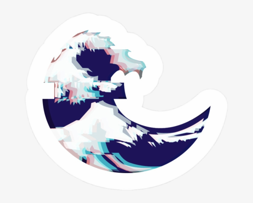 Wave Tumblr Aesthetic Sticker Amber Kenz Png Wave Vintage Aesthetic Stickers Png Png Image Transparent Png Free Download On Seekpng