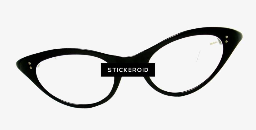Vector Clipart - Retro 50s style sunglasses. Vector Illustration gg92705321  - GoGraph