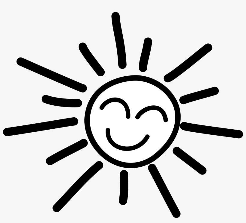 Happy Stick Figure Sun Picture Transparent Download Sun Clipart